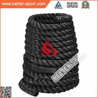 Gym fitness battle rope