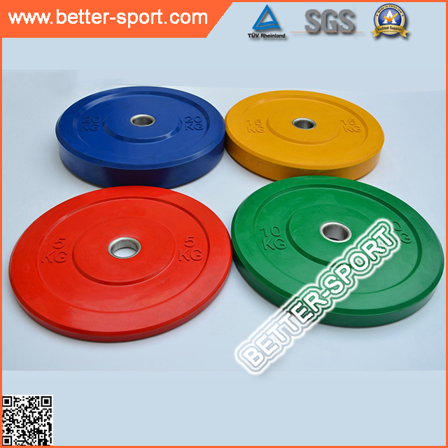 weightlifting rubber bumper plate