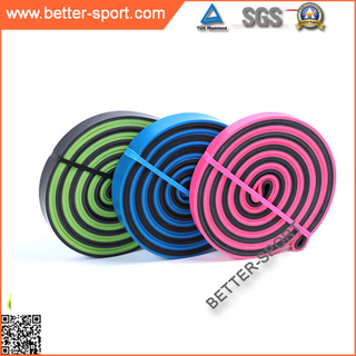 dual color fitness resistance bands